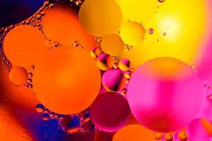 Abstract molecule structure - Parkinson's Movement