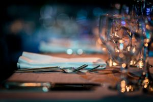 Luxury Table setting-Parkinson's Movement