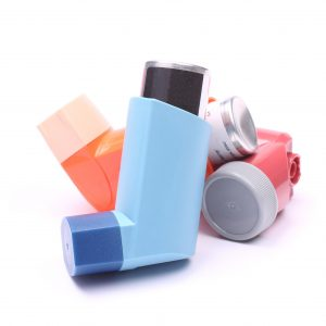 Asthma inhalers-salbutamol-Parkinson's Movement