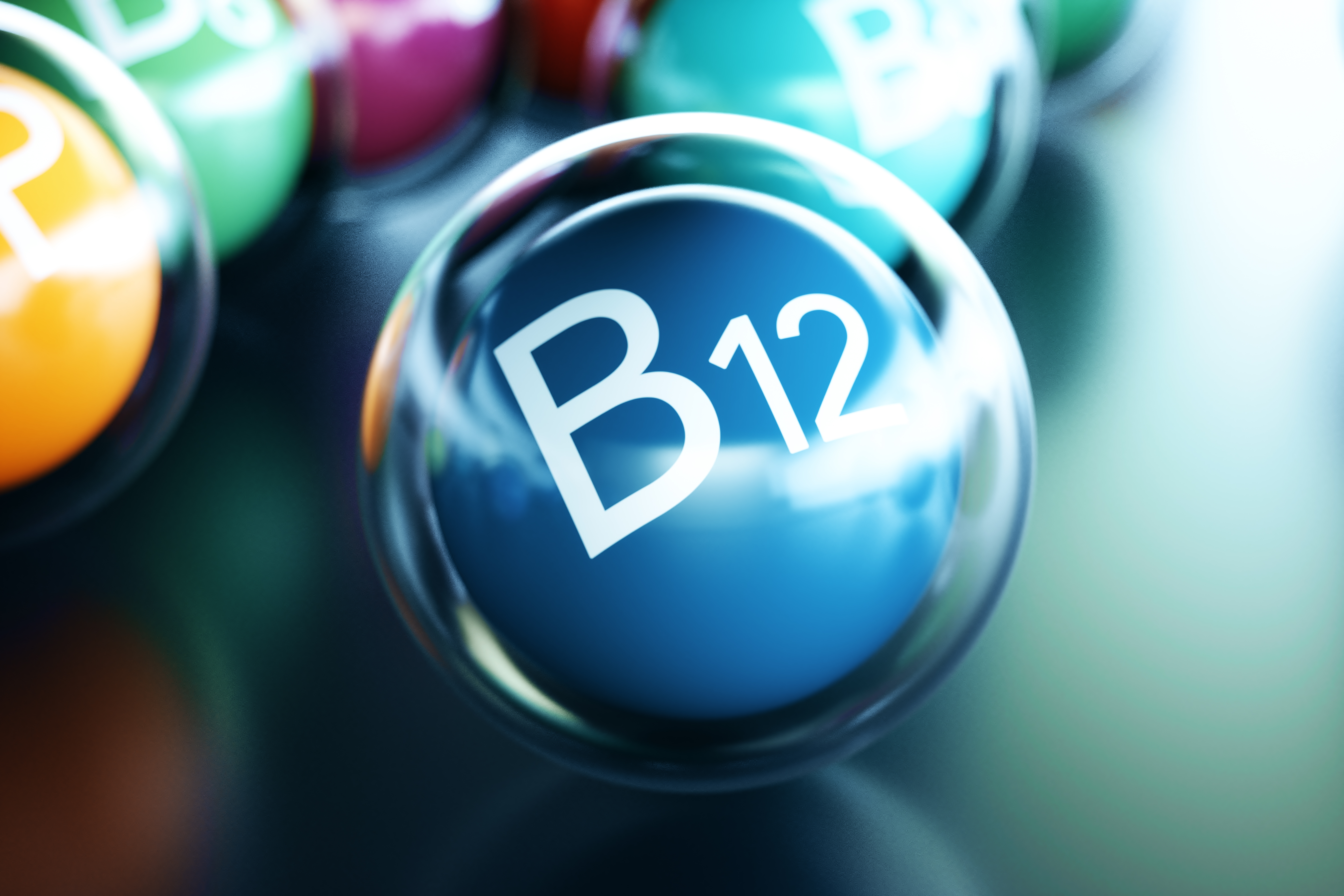 Vitamin B12 and progression