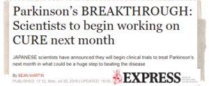 Parkinson's Movement-Stem Cell Headline