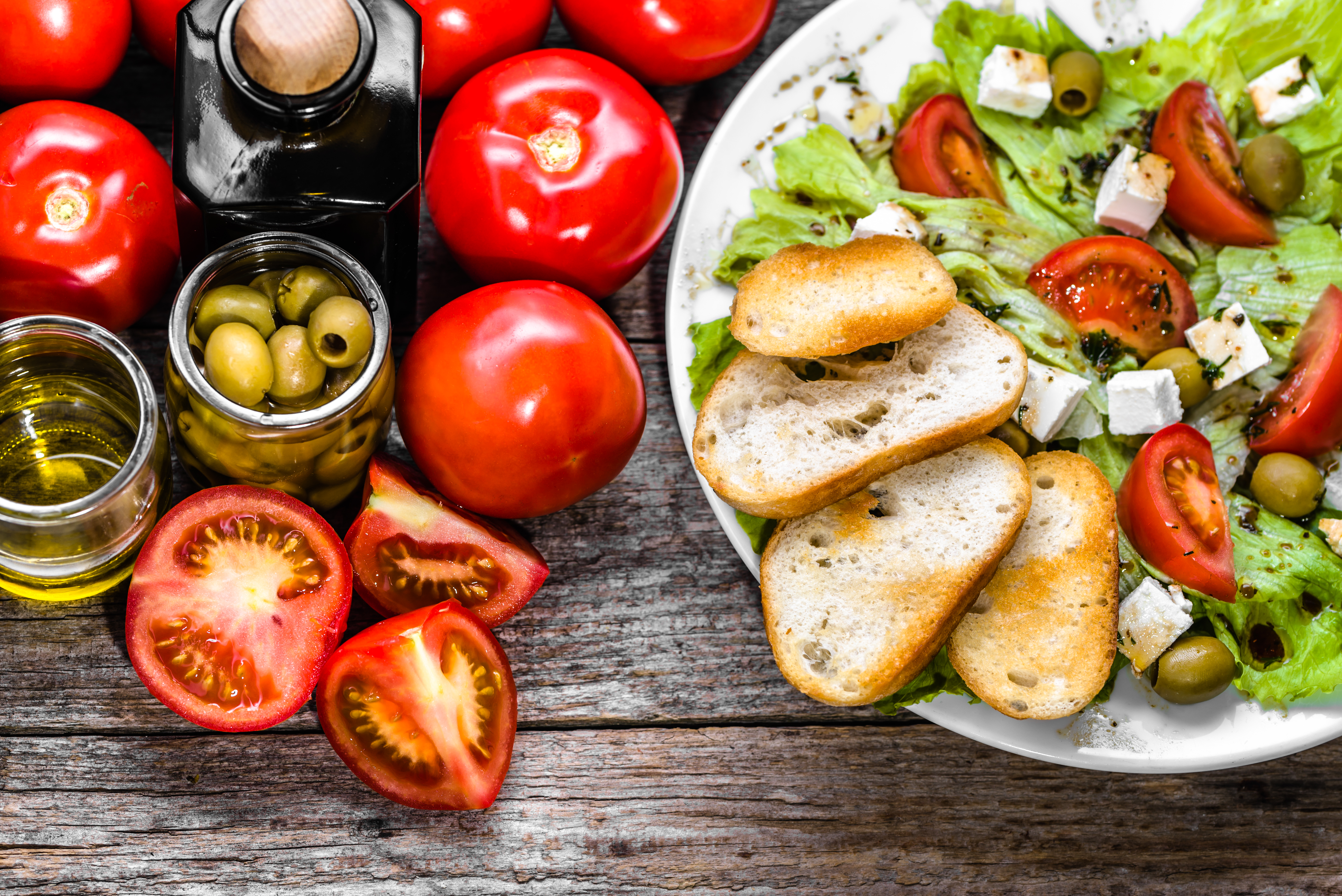 Mediterranean diet and early symptoms